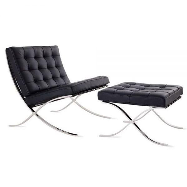 Barcelona-Chair_Mies-van-de-Rohe_musta1111