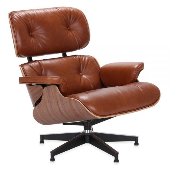 Lounge tuoli ja rahi, ruskea NÄYTEKPL 1